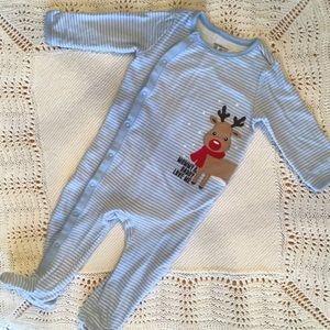 The Children's Place Reindeer Pajamas